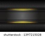 abstract yellow light line dark ... | Shutterstock .eps vector #1397215028