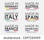 simple vector logos made in... | Shutterstock .eps vector #1397234495