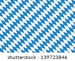 Oktoberfest blue checkered background