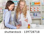 young pharmacist and female... | Shutterstock . vector #139728718