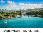 Bay Of Castries  St Lucia Island