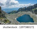 heart shaped high altitude... | Shutterstock . vector #1397380172