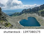 heart shaped high altitude... | Shutterstock . vector #1397380175