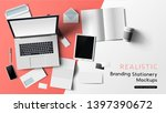 stationery and office branding... | Shutterstock .eps vector #1397390672