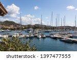 view of marina in porto rotondo ... | Shutterstock . vector #1397477555