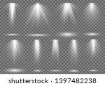 floodlight. light spotlight... | Shutterstock . vector #1397482238