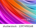 color flow abstract shape... | Shutterstock .eps vector #1397498168