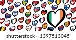 song festival euro songfestival ... | Shutterstock .eps vector #1397513045