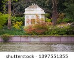 Gazebo with beautiful Landscaping on edge of creek