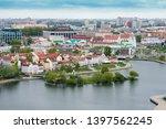 minsk. belarus. 03 may 2019.... | Shutterstock . vector #1397562245