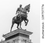 The Equestrian Statue Of...
