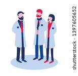 illustration showing three... | Shutterstock . vector #1397605652