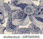 vector abstract illustration... | Shutterstock .eps vector #1397645492
