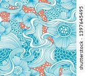 vector abstract illustration... | Shutterstock .eps vector #1397645495