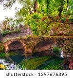 Medieval Stone Bridge In Eden...