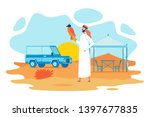 falconry in united arabic... | Shutterstock .eps vector #1397677835