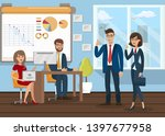 business analysts teamworking...   Shutterstock .eps vector #1397677958
