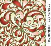 silk texture fluid shapes ...   Shutterstock .eps vector #1397678822