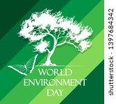 world environment day poster... | Shutterstock .eps vector #1397684342