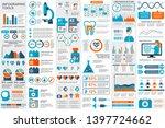 medical infographic elements... | Shutterstock .eps vector #1397724662