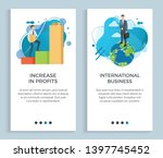 international business vector ... | Shutterstock .eps vector #1397745452