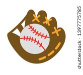 baseball glove or mitt sign...