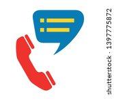 customer service vector icon.... | Shutterstock .eps vector #1397775872