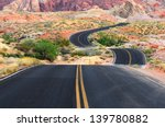 a road runs through it in the... | Shutterstock . vector #139780882