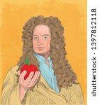 isaac newton  1643 1727 ... | Shutterstock .eps vector #1397812118