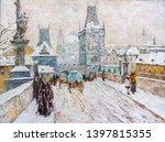 Beautiful Winter Urban...