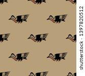 seamless geometrical monochrome ...   Shutterstock .eps vector #1397820512