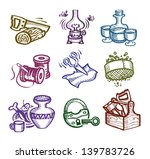 set of icons. author's... | Shutterstock .eps vector #139783726