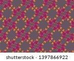 botanical succulents plants... | Shutterstock .eps vector #1397866922