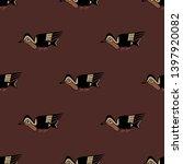 seamless geometrical monochrome ...   Shutterstock .eps vector #1397920082