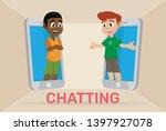 cartoon character  boy in...   Shutterstock .eps vector #1397927078