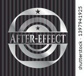 after effect silver shiny... | Shutterstock .eps vector #1397941925