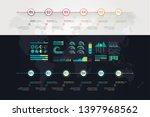 timeline vector infographic....   Shutterstock .eps vector #1397968562