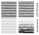 horizontal textured stripes.... | Shutterstock .eps vector #1397991365