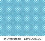 Light Blue Tablecloth...