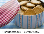 Ginger Biscuits In A Tin Box...