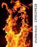 Taken using fast shutterspeed. cool fire texture