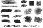 set of hand drawn pencil... | Shutterstock .eps vector #1398137318