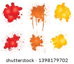 collection of artistic grungy... | Shutterstock . vector #1398179702