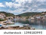stomorska  island of  olta ... | Shutterstock . vector #1398183995