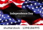 celebrating independence day....   Shutterstock . vector #1398186995
