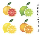 citrus,collection,dessert,eating,food,fresh,fruit,fruity,grapefruit,green,group,half,harvest,healthy,illustration