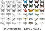 vector isolated set of... | Shutterstock .eps vector #1398276152