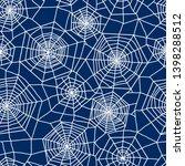 spiderweb seamless pattern....   Shutterstock .eps vector #1398288512
