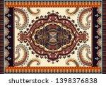 colorful ornamental vector... | Shutterstock .eps vector #1398376838