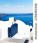 white blue national... | Shutterstock . vector #1398383348